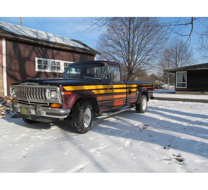 1986 Jeep J10 Pickup Rust Free