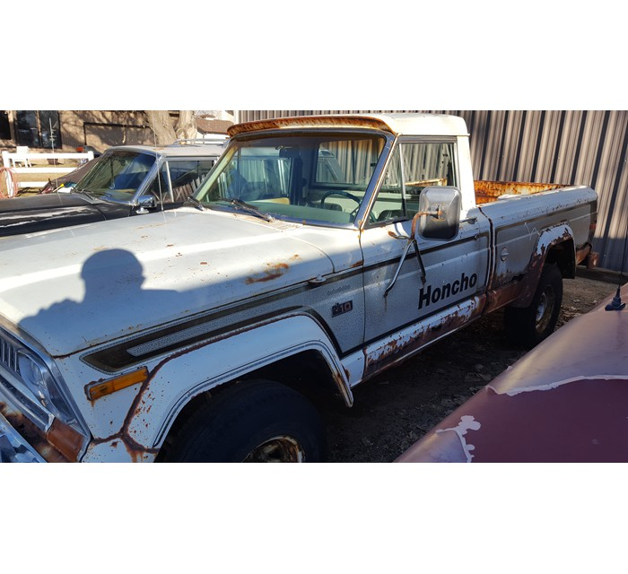1977 Jeep J10 Honcho Short Bed 4x4