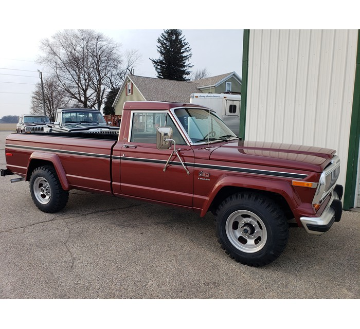 1986 Jeep J20 V8 Automatic 4X4 1 of 749