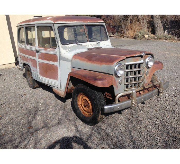 1951 Willys 2WD Station Wagon