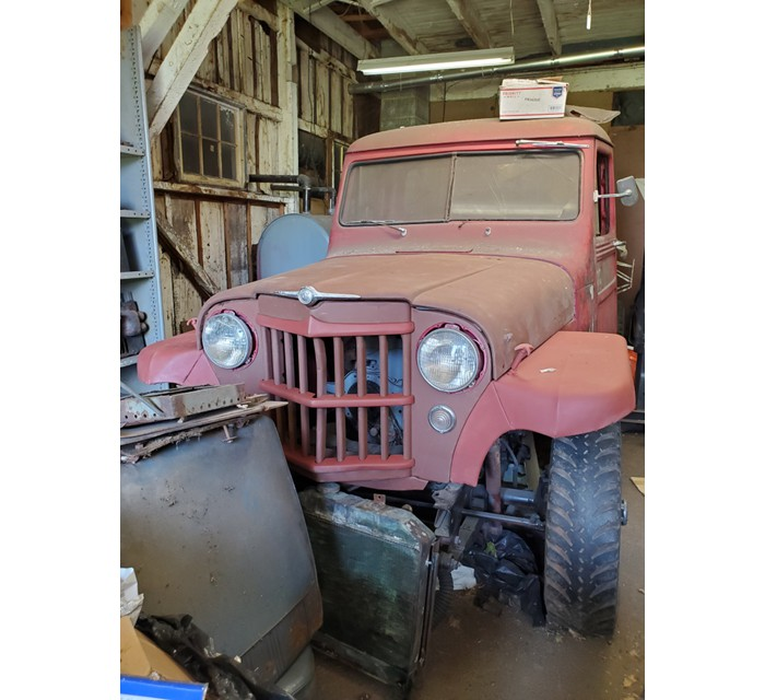 1957 Willys Truck project