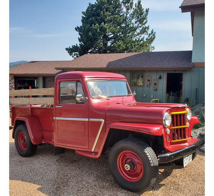 '63 Willys 6-226 4WD Pick-up
