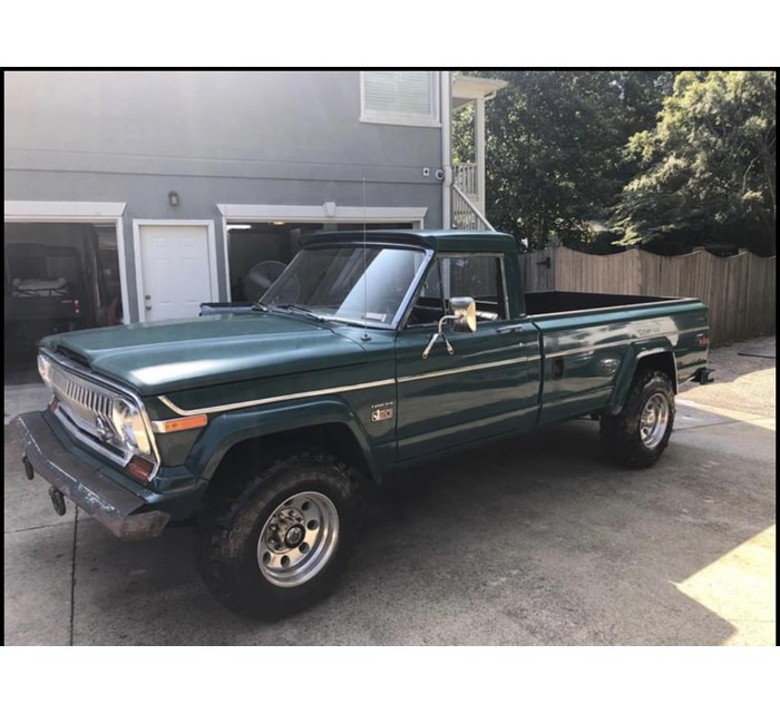 1978 Jeep J20 with 401 and A/C