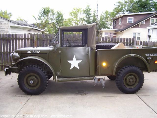1952 Dodge M-37 Truck