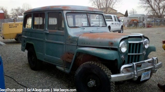 Used Jeeps and Jeep Parts For Sale - 1957 Willys Jeep