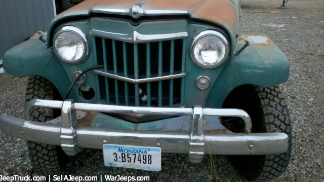 Used Jeeps and Jeep Parts For Sale - 1957 Willys Jeep Overland Wagon