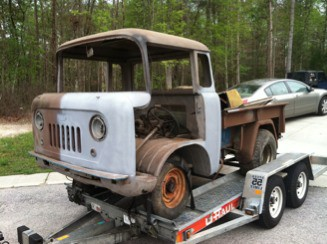 Used Jeeps And Jeep Parts For Sale 1958 Jeep Willys Fc 150