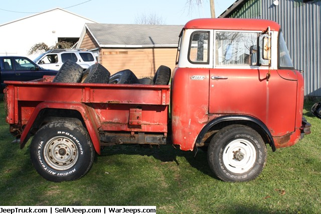 Used Jeeps And Jeep Parts For Sale 1960 Willy S Cab Over Fc Pickup
