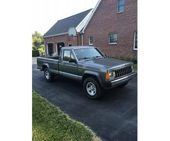 1987 AMC Jeep Comanche