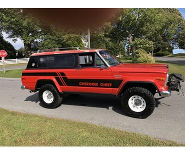 1976 Jeep Cherokee Chief Z Code 401