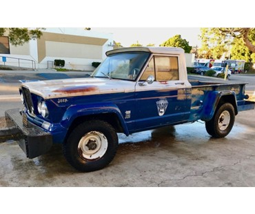 '64 Willys Jeep Gladiator Thriftside 4x4