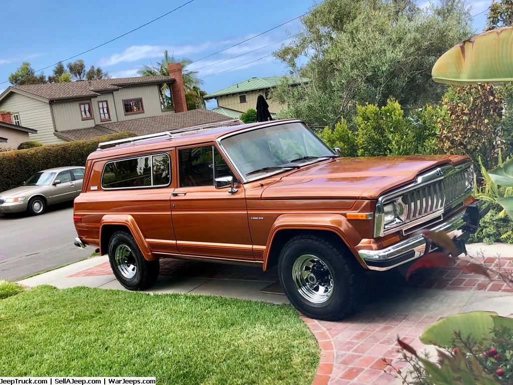 1983 Jeep Cherokee Laredo 4x4